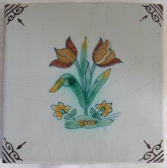 MAKKUM TICHELAAR FLIESEN 13 cm POLYCHROOM/MANGAN
